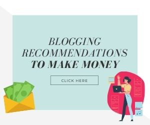 Blogging recommendations to make money invitation to view blog post on improving WordPress site with tools and resources